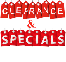 Specials & Clearance